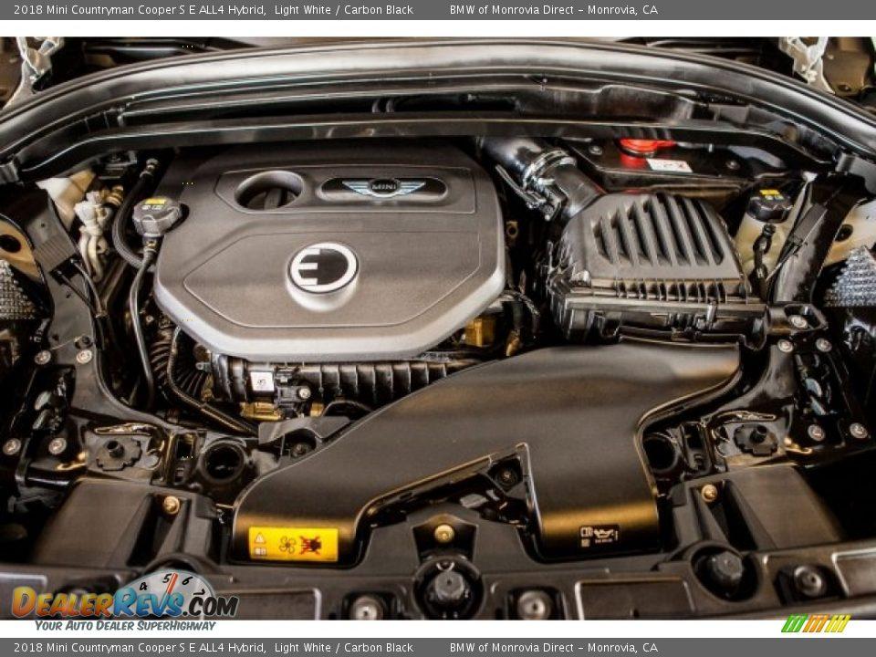 2018 Mini Countryman Cooper S E ALL4 Hybrid Light White / Carbon Black Photo #8