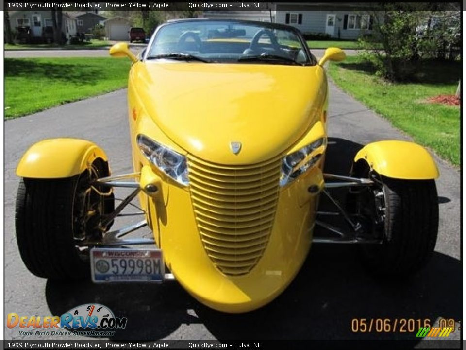 1999 Plymouth Prowler Roadster Prowler Yellow / Agate Photo #1
