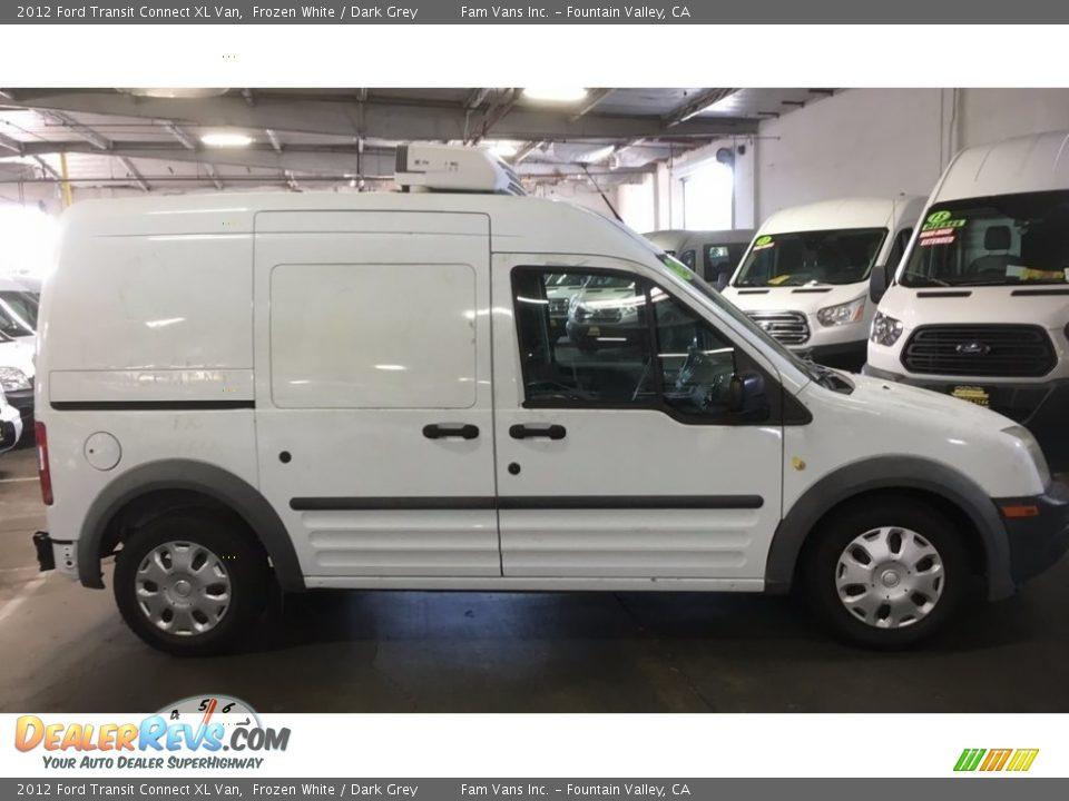 2012 Ford Transit Connect XL Van Frozen White / Dark Grey Photo #3