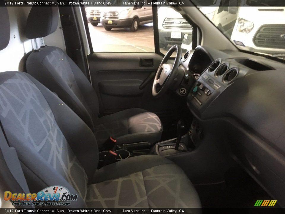 2012 Ford Transit Connect XL Van Frozen White / Dark Grey Photo #6