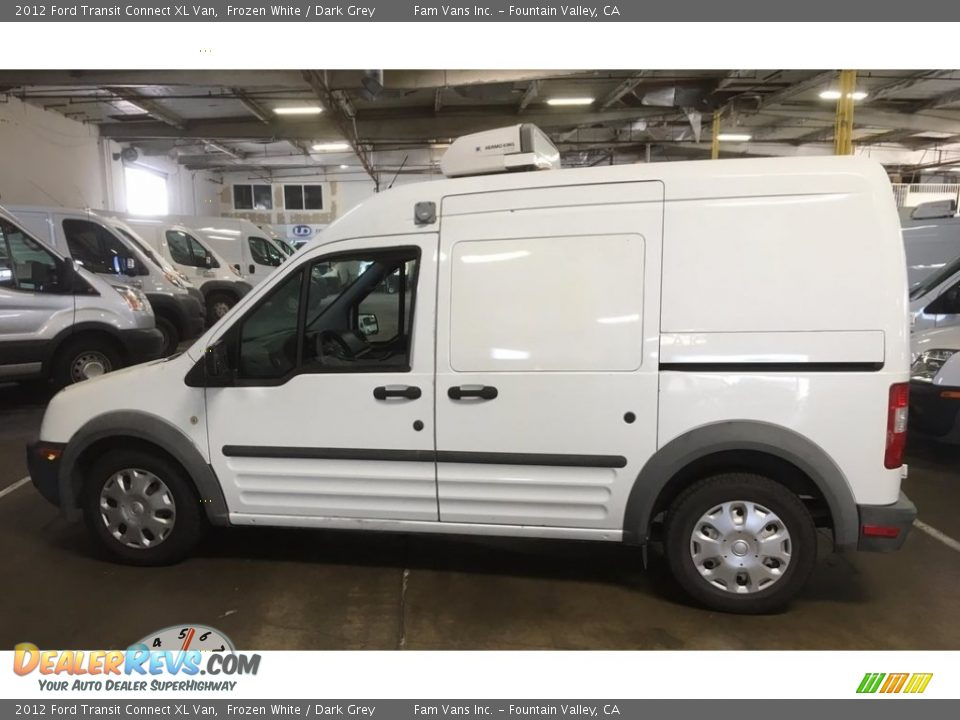 2012 Ford Transit Connect XL Van Frozen White / Dark Grey Photo #10