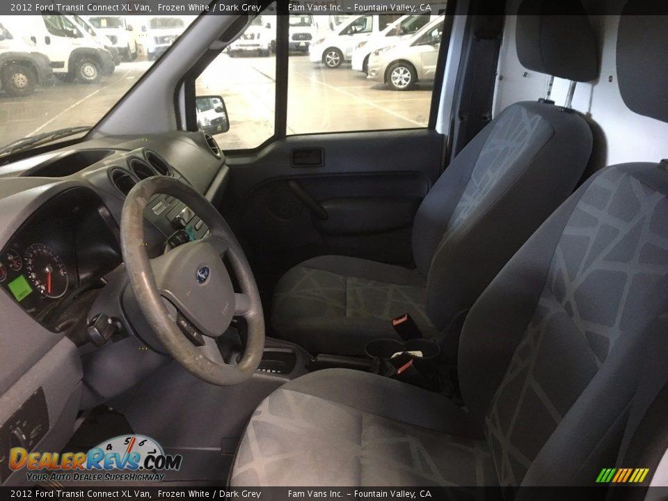 2012 Ford Transit Connect XL Van Frozen White / Dark Grey Photo #14