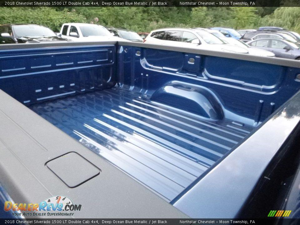 2018 Chevrolet Silverado 1500 LT Double Cab 4x4 Deep Ocean Blue Metallic / Jet Black Photo #13