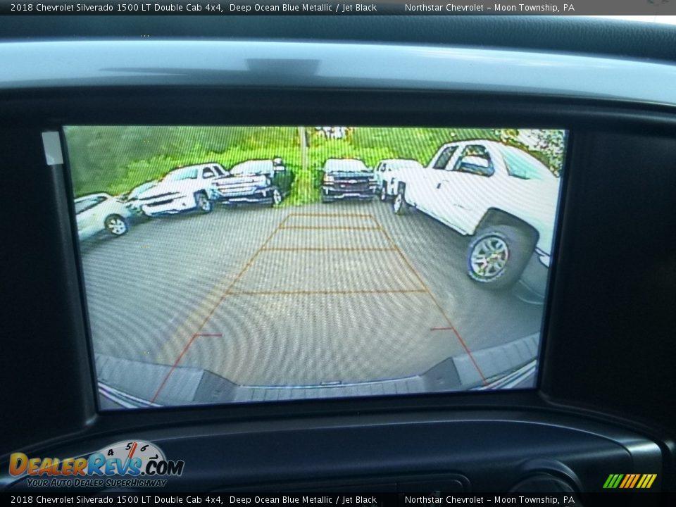 2018 Chevrolet Silverado 1500 LT Double Cab 4x4 Deep Ocean Blue Metallic / Jet Black Photo #20
