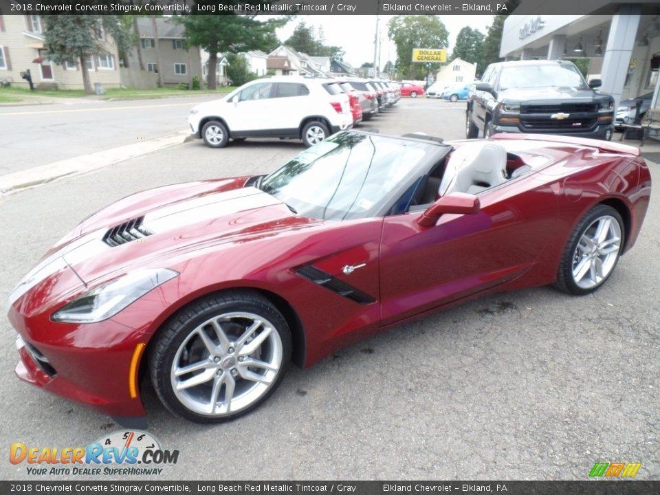 Long Beach Red Metallic Tintcoat 2018 Chevrolet Corvette Stingray Convertible Photo #5