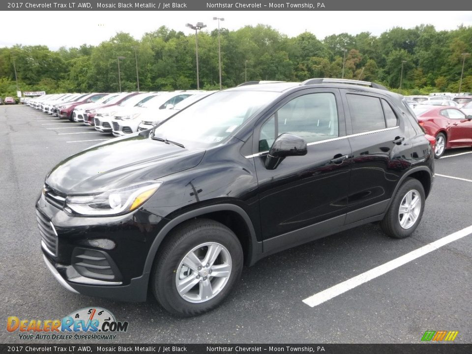 2017 Chevrolet Trax LT AWD Mosaic Black Metallic / Jet Black Photo #1