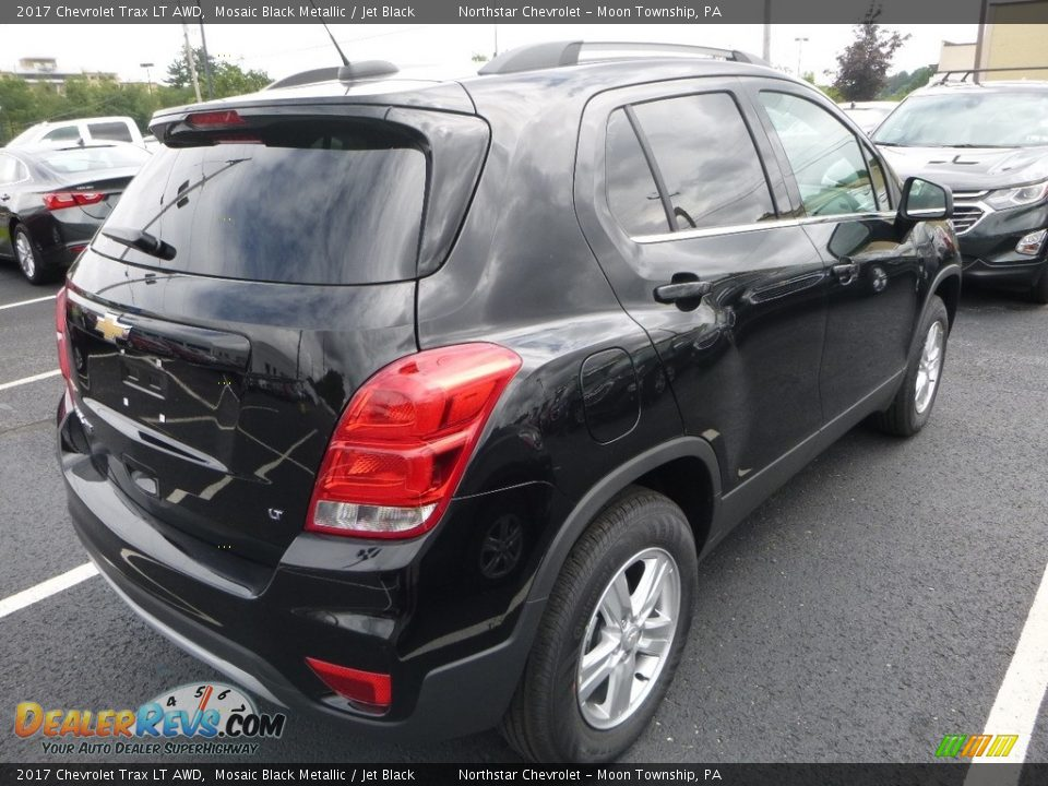 2017 Chevrolet Trax LT AWD Mosaic Black Metallic / Jet Black Photo #5