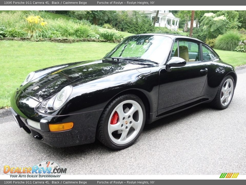 Front 3/4 View of 1996 Porsche 911 Carrera 4S Photo #1