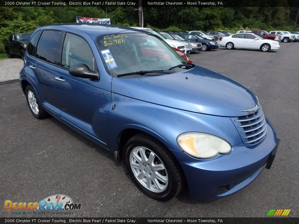 2006 Chrysler PT Cruiser Touring Electric Blue Pearl / Pastel Slate Gray Photo #5