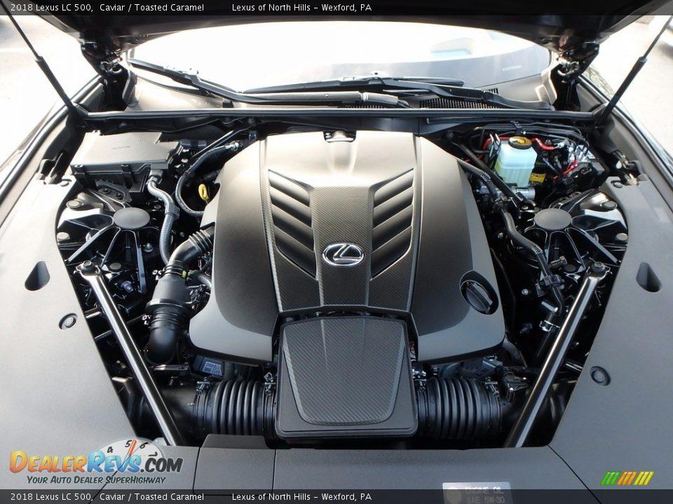 2018 Lexus LC 500 5.0 Liter DOHC 32-Valve VVT-i V8 Engine Photo #6