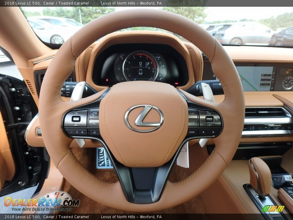 2018 Lexus LC 500 Steering Wheel Photo #12