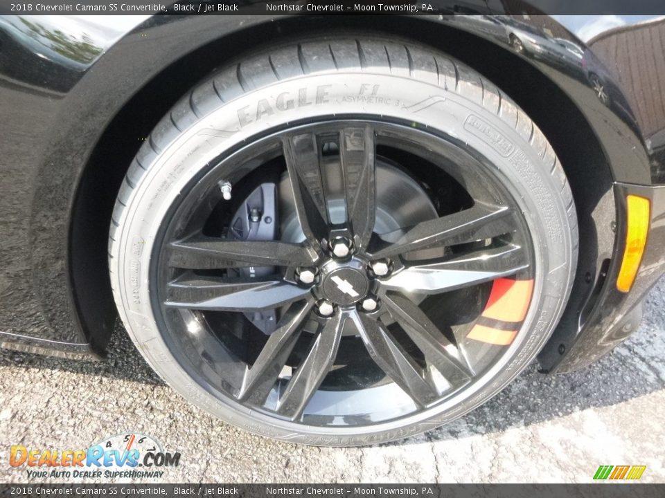 2018 Chevrolet Camaro SS Convertible Wheel Photo #9