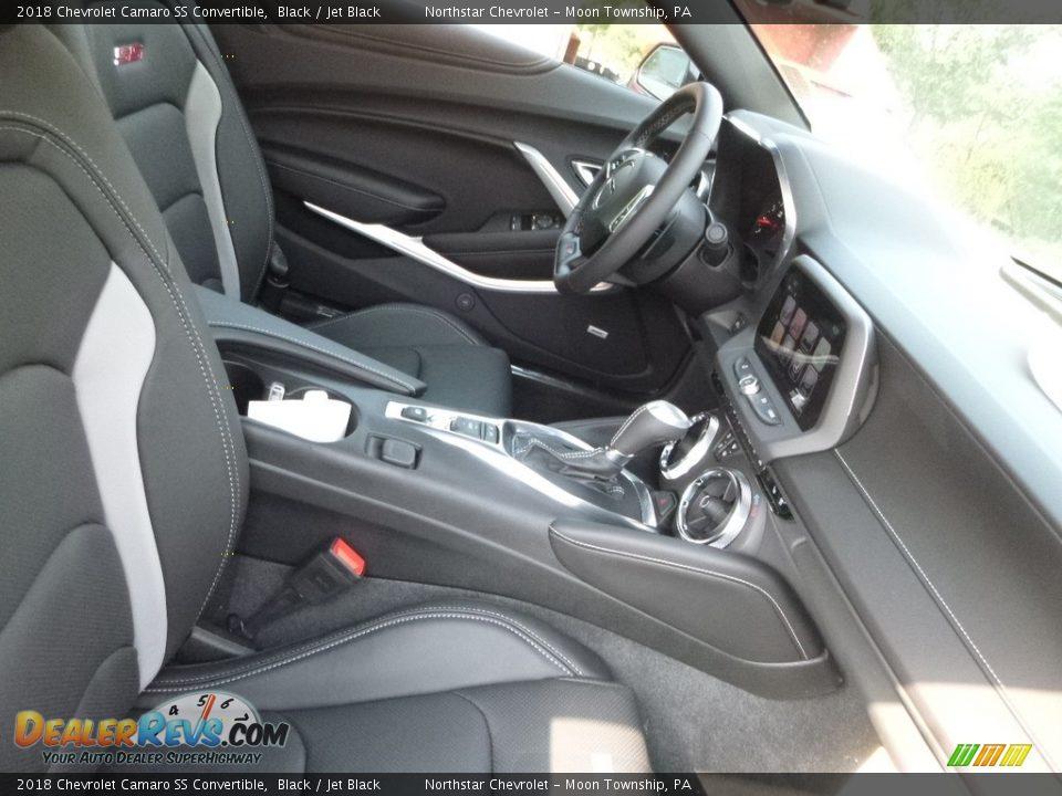 2018 Chevrolet Camaro SS Convertible Black / Jet Black Photo #11
