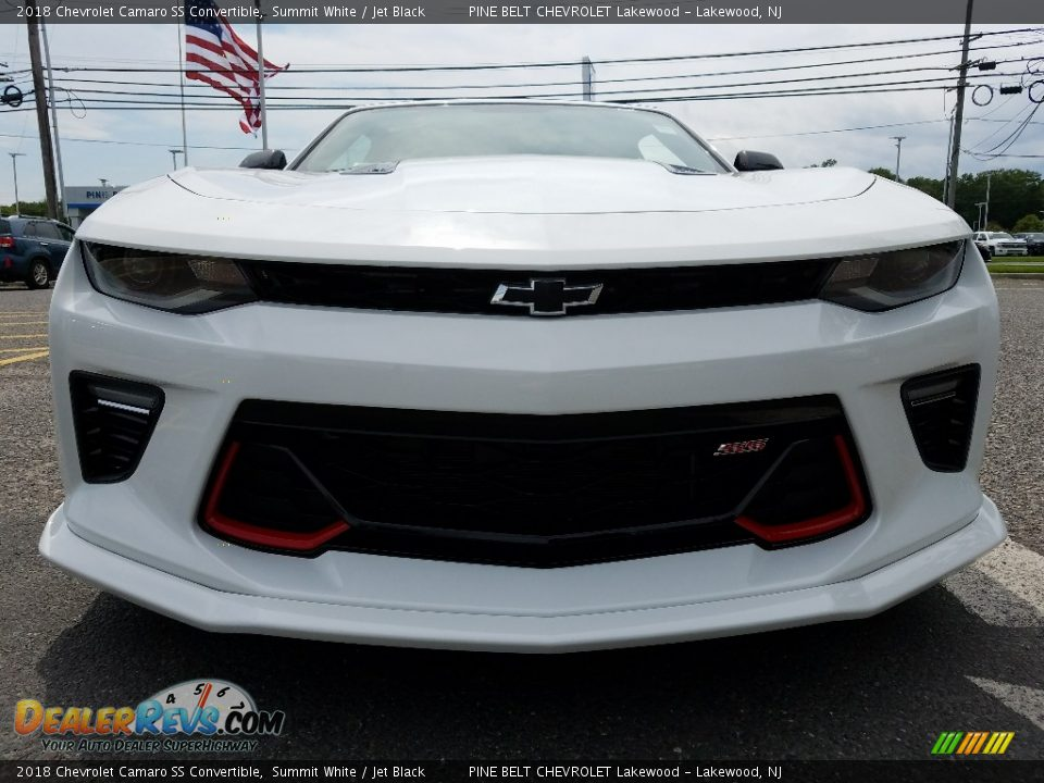 2018 Chevrolet Camaro SS Convertible Summit White / Jet Black Photo #2