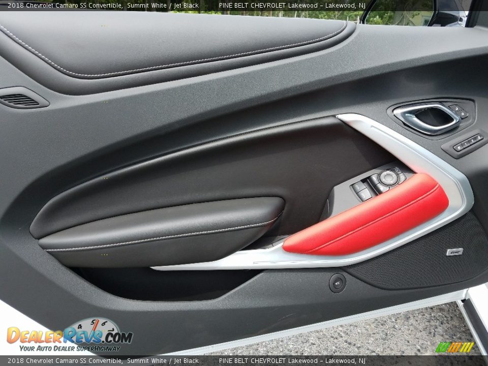 2018 Chevrolet Camaro SS Convertible Summit White / Jet Black Photo #6