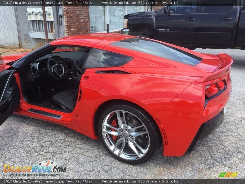 2017 Chevrolet Corvette Stingray Coupe Torch Red / Gray Photo #5