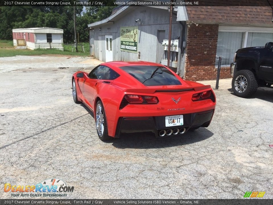 2017 Chevrolet Corvette Stingray Coupe Torch Red / Gray Photo #19