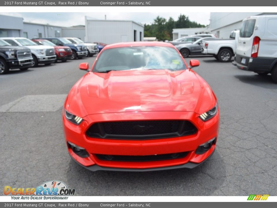 2017 Ford Mustang GT Coupe Race Red / Ebony Photo #4