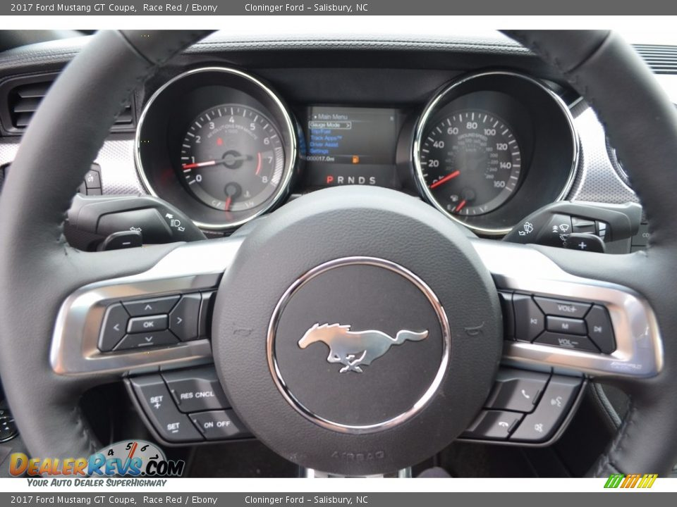2017 Ford Mustang GT Coupe Steering Wheel Photo #14