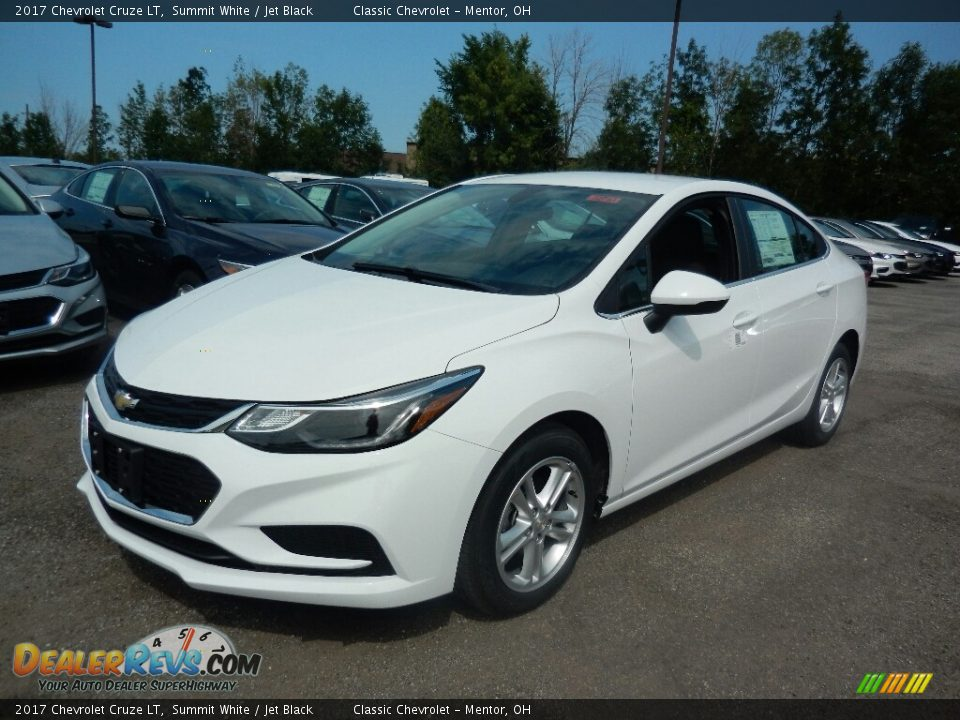 2017 Chevrolet Cruze LT Summit White / Jet Black Photo #1