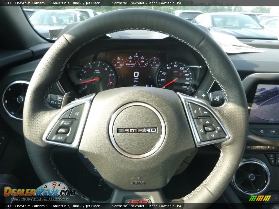 2018 Chevrolet Camaro SS Convertible Steering Wheel Photo #20