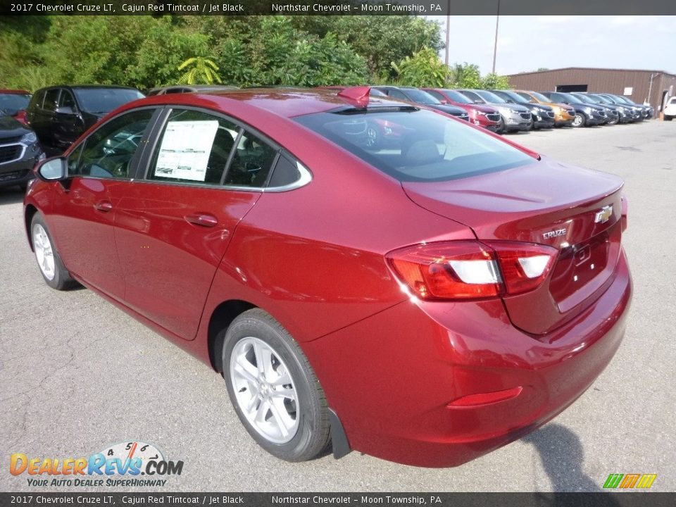 2017 Chevrolet Cruze LT Cajun Red Tintcoat / Jet Black Photo #3