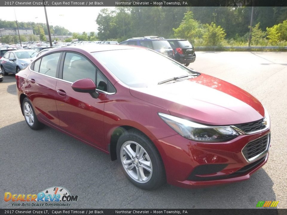 2017 Chevrolet Cruze LT Cajun Red Tintcoat / Jet Black Photo #7