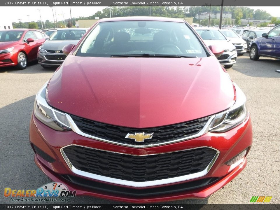 2017 Chevrolet Cruze LT Cajun Red Tintcoat / Jet Black Photo #8