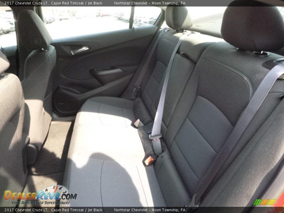 2017 Chevrolet Cruze LT Cajun Red Tintcoat / Jet Black Photo #13