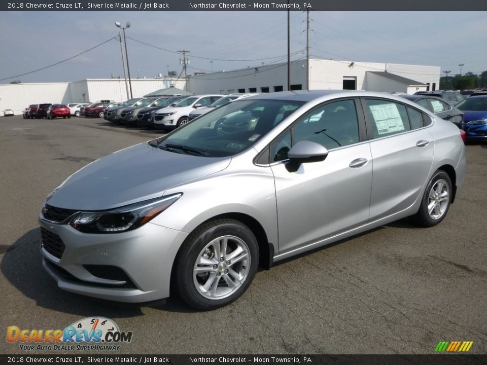 2018 Chevrolet Cruze LT Silver Ice Metallic / Jet Black Photo #1