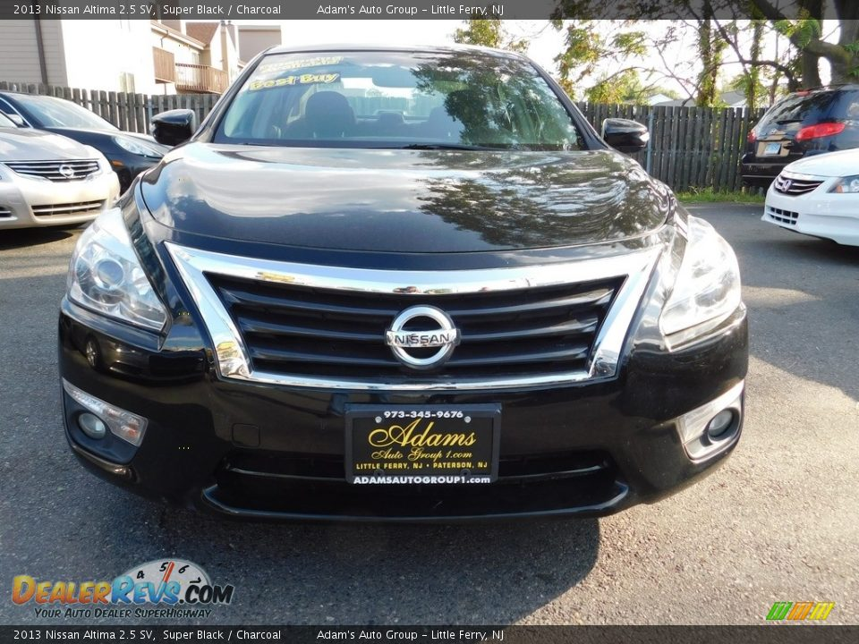 2013 Nissan Altima 2.5 SV Super Black / Charcoal Photo #2