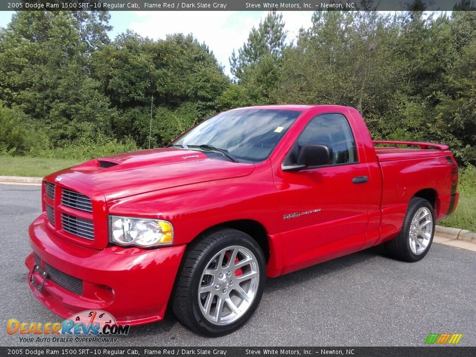 Flame Red 2005 Dodge Ram 1500 SRT-10 Regular Cab Photo #2