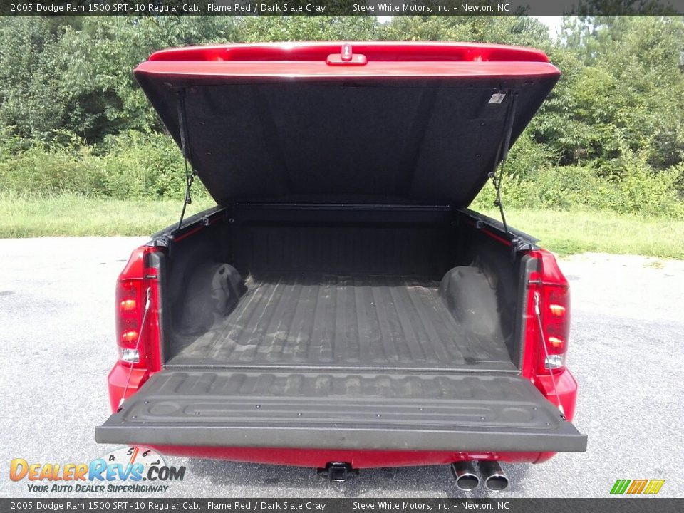 2005 Dodge Ram 1500 SRT-10 Regular Cab Flame Red / Dark Slate Gray Photo #7