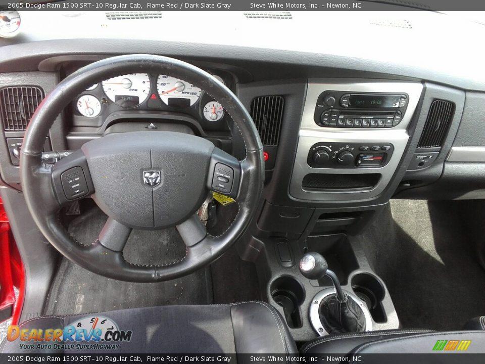 Dashboard of 2005 Dodge Ram 1500 SRT-10 Regular Cab Photo #17