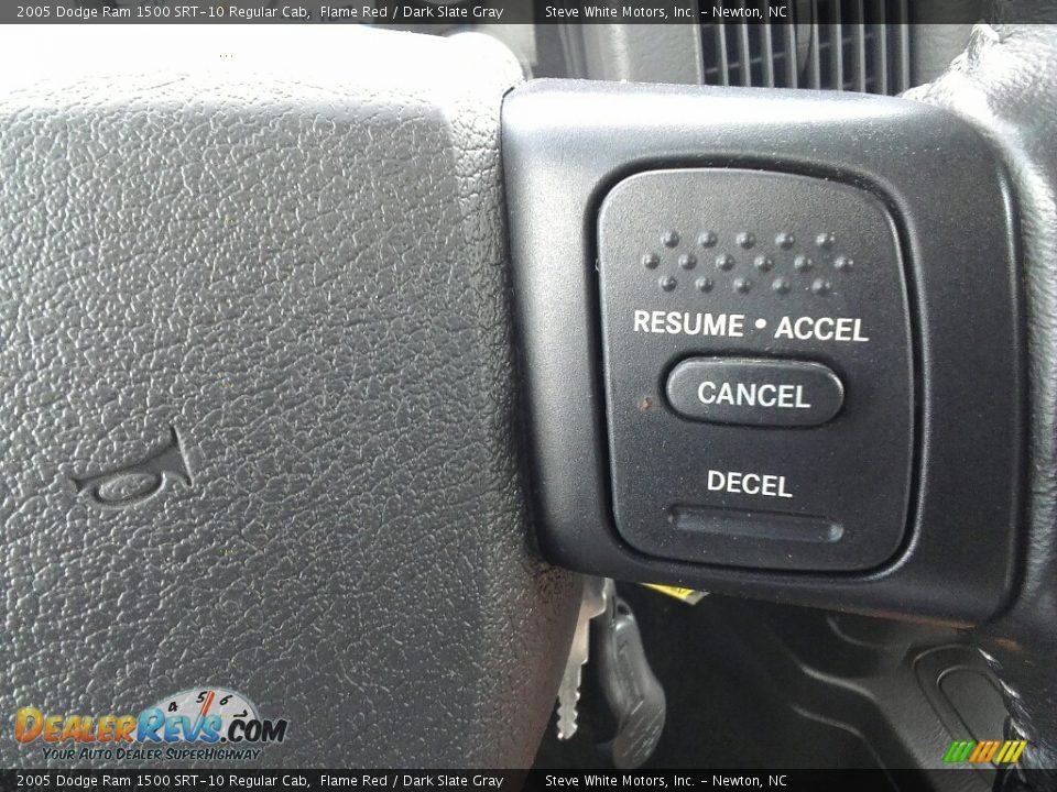 Controls of 2005 Dodge Ram 1500 SRT-10 Regular Cab Photo #19