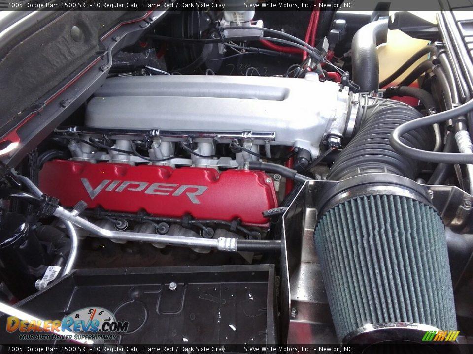 2005 Dodge Ram 1500 SRT-10 Regular Cab 8.3 Liter SRT OHV 20-Valve V10 Engine Photo #28
