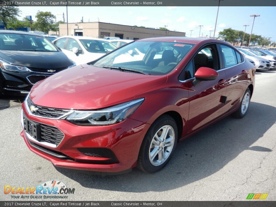 2017 Chevrolet Cruze LT Cajun Red Tintcoat / Jet Black Photo #1