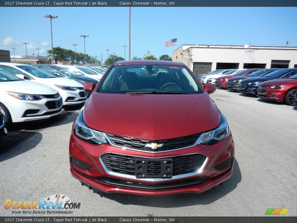 2017 Chevrolet Cruze LT Cajun Red Tintcoat / Jet Black Photo #2