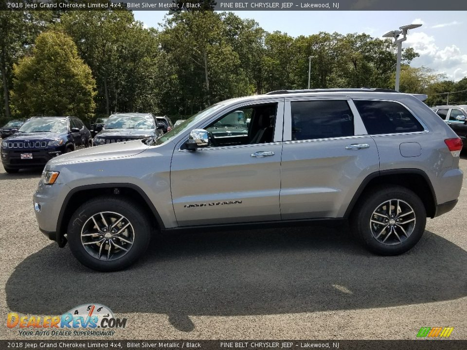 2018 Jeep Grand Cherokee Limited 4x4 Billet Silver Metallic / Black Photo #3