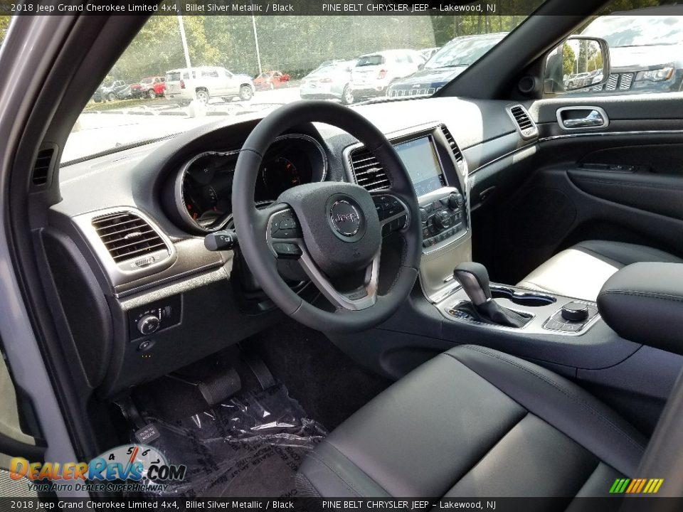 2018 Jeep Grand Cherokee Limited 4x4 Billet Silver Metallic / Black Photo #7