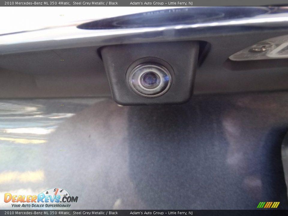 2010 Mercedes-Benz ML 350 4Matic Alpine Rain Metallic / Black Photo #34