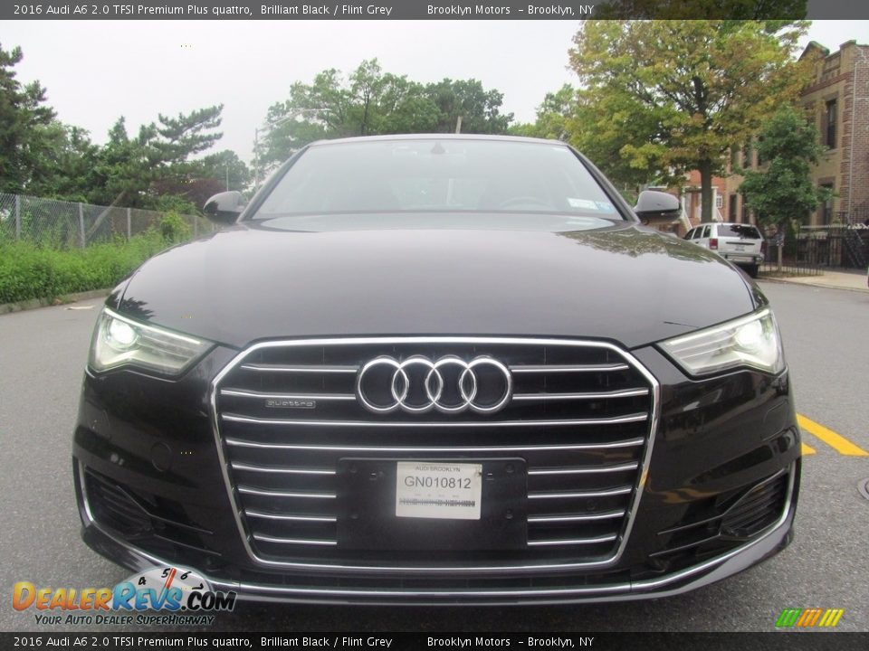 2016 Audi A6 2.0 TFSI Premium Plus quattro Brilliant Black / Flint Grey Photo #4