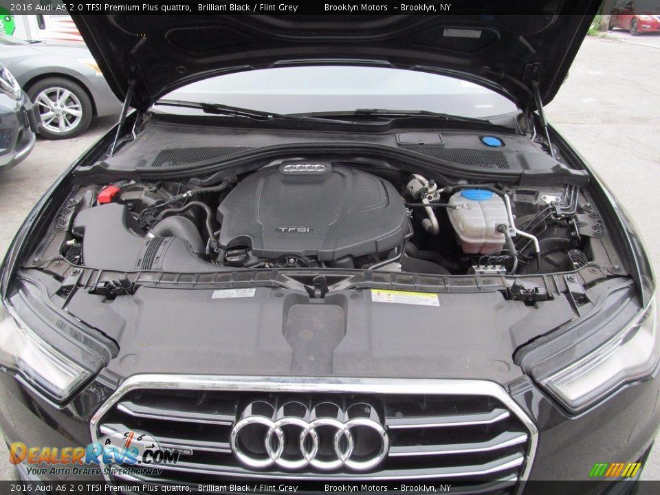 2016 Audi A6 2.0 TFSI Premium Plus quattro Brilliant Black / Flint Grey Photo #33