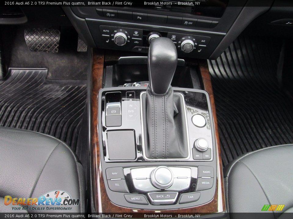 2016 Audi A6 2.0 TFSI Premium Plus quattro Brilliant Black / Flint Grey Photo #36