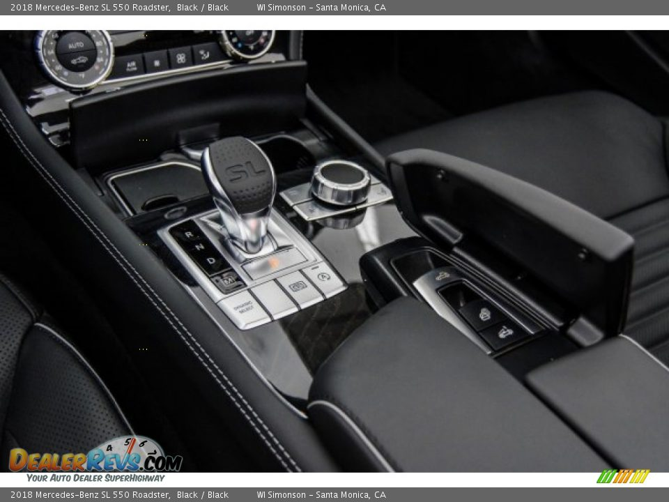 2018 Mercedes-Benz SL 550 Roadster Shifter Photo #6