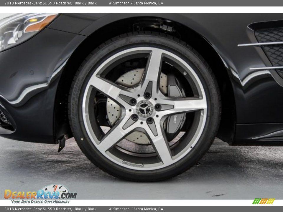 2018 Mercedes-Benz SL 550 Roadster Wheel Photo #9