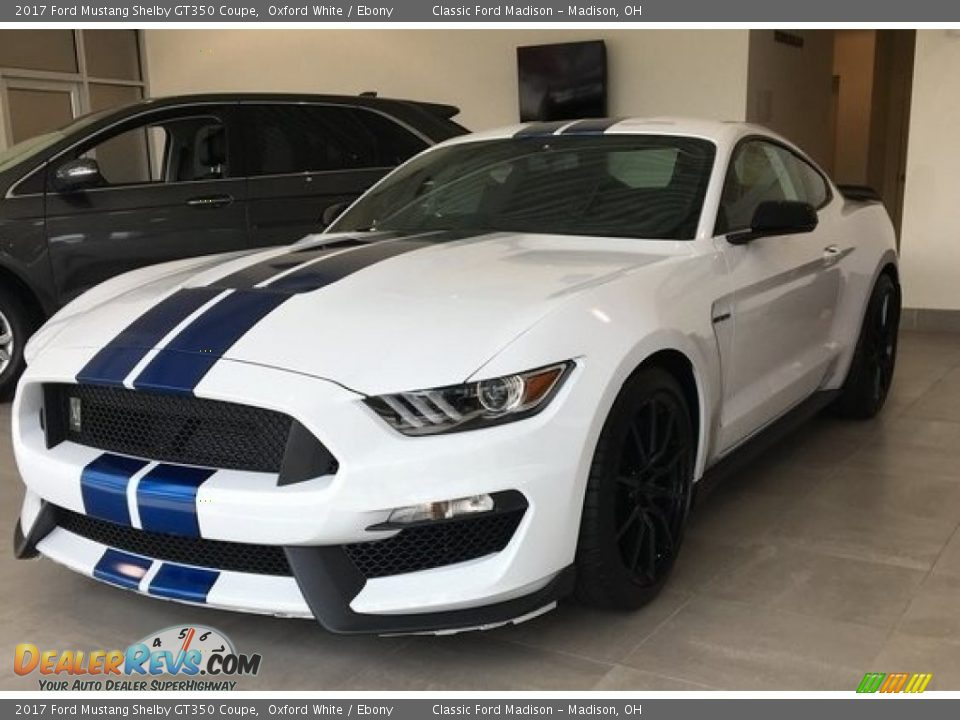 2017 Ford Mustang Shelby GT350 Coupe Oxford White / Ebony Photo #1
