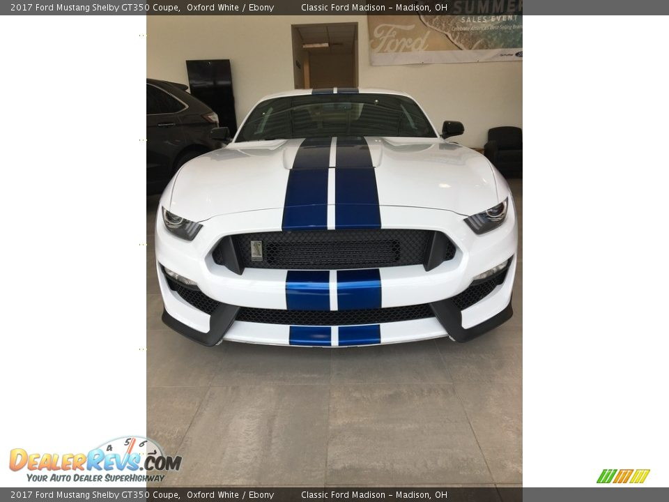 2017 Ford Mustang Shelby GT350 Coupe Oxford White / Ebony Photo #2