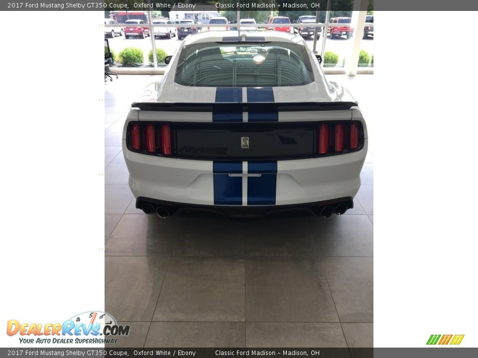 2017 Ford Mustang Shelby GT350 Coupe Oxford White / Ebony Photo #3