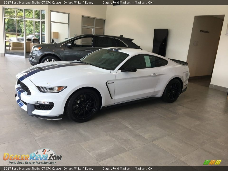 2017 Ford Mustang Shelby GT350 Coupe Oxford White / Ebony Photo #5